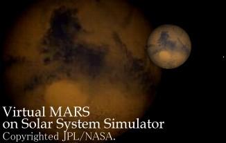 Virtual MARS on Solar System Simulator